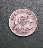 3 Пенса 1914 Австралия, фото №5