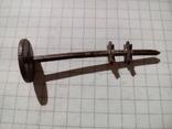 """Часть механизма от немецкой керосиновой лампы """"Gebruder Brunner Wien"""", фото №5"""