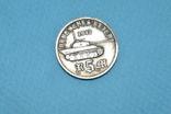 5 марок 1943 года Адольф Гитлер Танк Пантера, фото №6