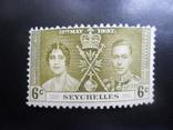 Британские колонии. Сейшелы. 1937 г. МН, фото №2