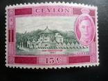 Британские колонии. Цейлон. 1947 г. МН, фото №2