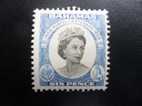 Британские колонии. Багамы. 1959 г. МН, фото №2