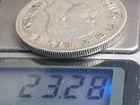 1 доллар, Канада, король Георг VI, 1939 г., серебро, 0.800, 23.33 гр., юбилейная, фото №4