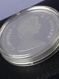 1 доллар, Канада, 1981 год, 100 лет Трансконтинентальной железной дороге, серебро, фото №6