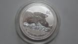 1 доллар 2008 Австралия год Мыши серебро унция 999, фото №2