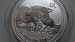 1 доллар 2008 Австралия год Мыши серебро унция 999, фото №4