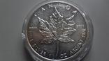5 долларов 2011 Канада серебро унция 999,9, фото №3