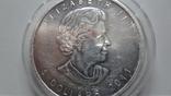 5 долларов 2011 Канада серебро унция 999,9, фото №6