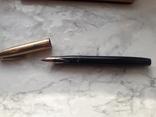 Ручка sheaffer с золотим пером, фото №3