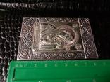 Икона. Богородица. Казанская Б. М. Серебро 925 прб., фото №4