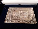 Икона. Богородица. Казанская Б. М. Серебро 925 прб., фото №6