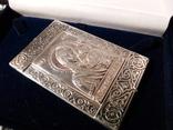 Икона. Богородица. Казанская Б. М. Серебро 925 прб., фото №7