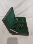 Мельхиоровый набор в упаковке, фото №5