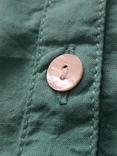 Женская бирюзовая рубаха. Кружево, крючёк. Charles Vogelr. Индия, фото №5