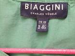 Женская бирюзовая рубаха. Кружево, крючёк. Charles Vogelr. Индия, фото №6