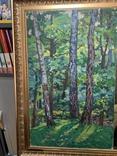 Пейзаж СССР Березы 1970 год, Колосовский Георгий Сергеевич (1913 1988), фото №2