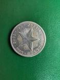 Куба 20 сентаво 1949 г.серебро, фото №3