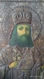 Икона св Феодоссия Черниговского 14 на 18 см, фото №3