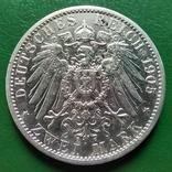 2 марки Пруссия 1905 г., фото №3
