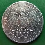 5 марок Вюртемберга 1902р., фото №3
