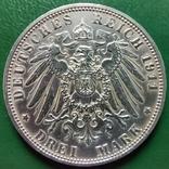 3 марки Бавария 1911 г., фото №2
