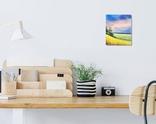 Картина, Рідні небо та земля, 25х30 см. Живопис на полотні, фото №5