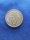 2 кроны Дания Кристиан Х 1925г., фото №3