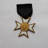Крест американских масонов 2 ст. Без эмали., фото №2
