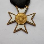 Крест американских масонов 2 ст. Без эмали., фото №3