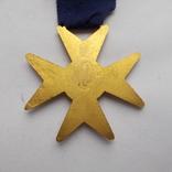 Крест американских масонов 1 ст. Эмаль., фото №5