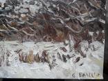 Нижние Гайдары. Этюд с натуры. Х.м, фото №5