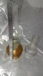 Керосиновая лампа +стеклянная колба ,жёлтое стекло СССР, фото №9