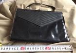 """Чорна жіноча сумочка """"на вихід"""", фото №2"""