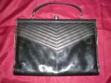 """Чорна жіноча сумочка """"на вихід"""", фото №9"""