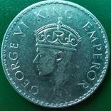 Рупия 1940 г.серебро, фото №2