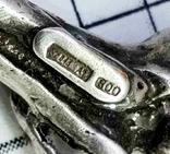 """Подвеска серебро 800 пр, 6 грамм. """"Ветка хмеля"""", фото №5"""