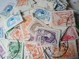 Марки Великобритании 1910-1930 (80шт) Много разновидностей, фото №3
