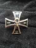 Знак член гвардейского экипажа Николай 2-ой, копия, фото №2