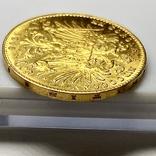 20 крон (рестрайк) 1915. Австро-Венгрия (золото 900, вес 6,78 г), фото №8