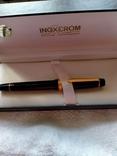 Ручка перьевая Inoxcrom, золото 23, 6 карата, фото №4