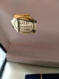Ручка перьевая Inoxcrom, золото 23, 6 карата, фото №6