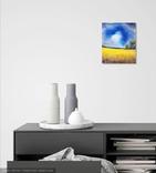Картина, Розвидняється, 25х30 см. Живопис на полотні, фото №5