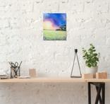 Картина, Фарби літнього вечора, 25х30 см. Живопис на полотні, фото №6