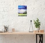 Картина, Щедрий дощик, 25х30 см. Живопис на полотні, фото №6