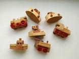 Киндер деревянные игрушки 90е, фото №2