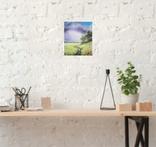 Картина, Стежина в давнину, 25х30 см. Живопис на полотні, фото №6
