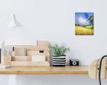 Картина, Біленька хатка, 25х30 см. Живопис на полотні, фото №6