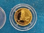"""2 гривні """"Лелека""""золото 999.9/2 гривни """"Аист"""" 2004 год.,сертификат N2927., фото №5"""