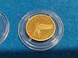 """2 гривні """"Лелека""""золото 999.9/2 гривни """"Аист"""" 2004 год.,сертификат N2927., фото №7"""