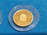 """2 гривні """"Лелека""""золото 999.9/2 гривни """"Аист"""" 2004 год.,сертификат N2927., фото №13"""